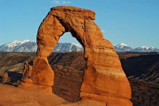 DELICATE ARCH (ARCHES National Park UTAH)